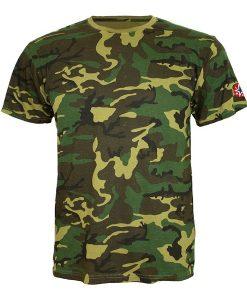 T-shirt-wild-camouflage-logo-lydc-rouge